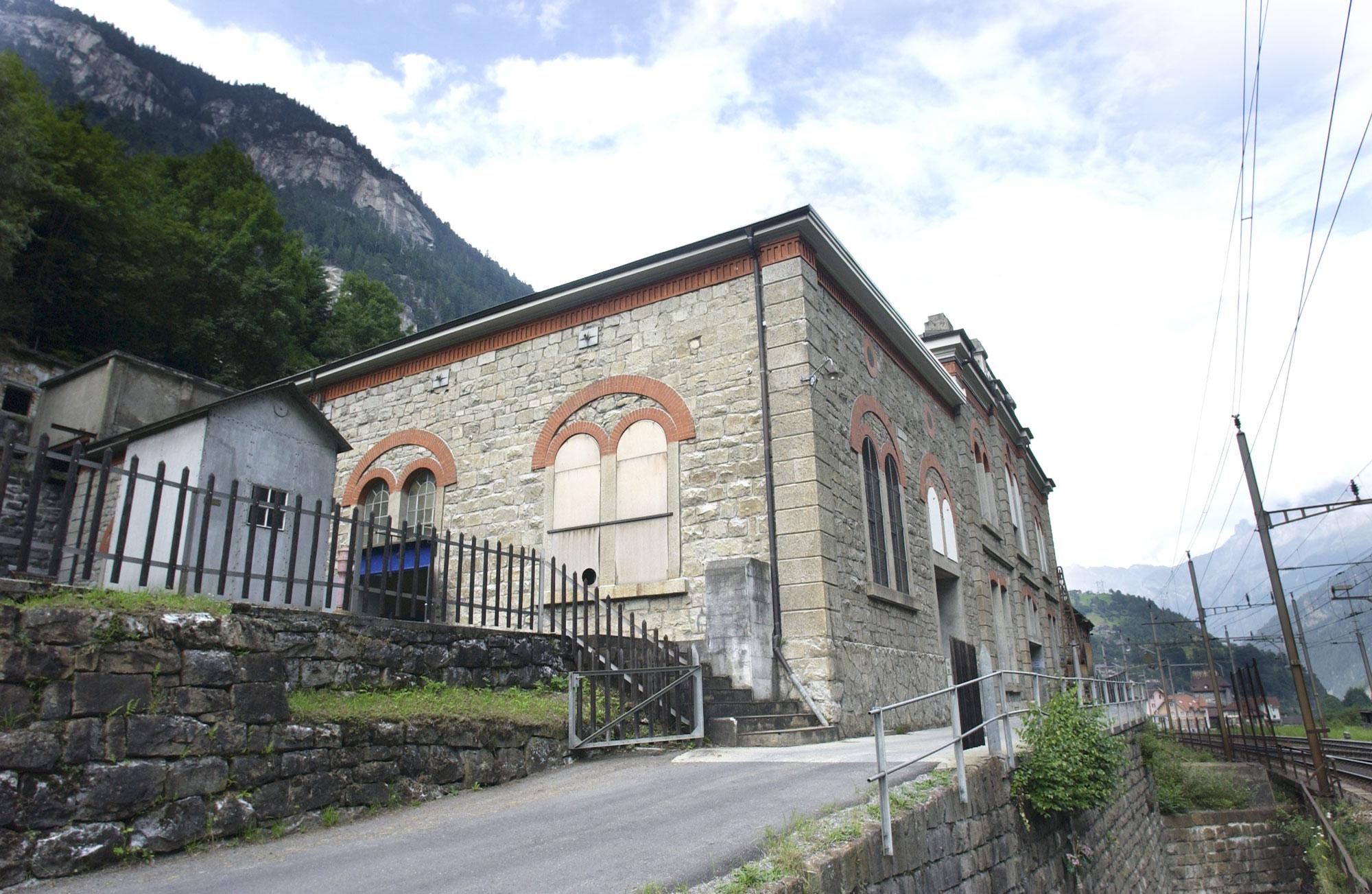 Die bestehende Kraftwerkzentrale in Gurtnellen Wiler soll ausgebaut werden.